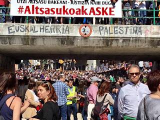 La grave injusticia con los ocho jóvenes de Altsasu continúa