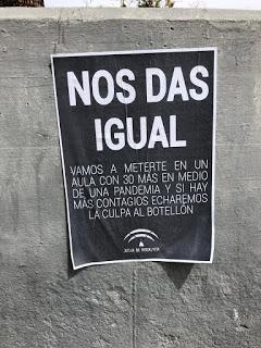 Huelga de la Educación Pública en Andalucía