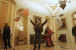 EE.UU. Violencia de extrema derecha en el Capitolio